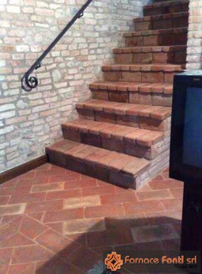 Foto Pavimento Cucina E Arco Con Mattoni In Cotto  Apps Directories
