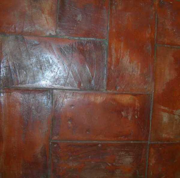 Tavella rossa restauro rustico