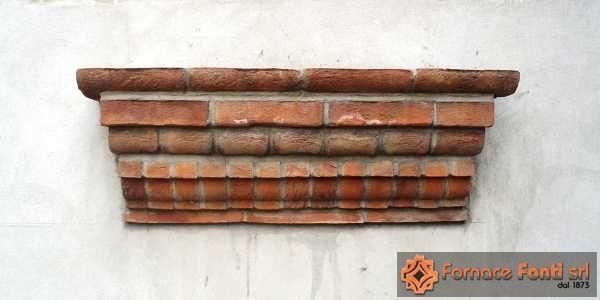 Particolari cornici - Cornici finestre in mattoni ...