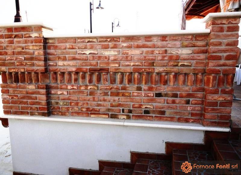 Pittura pareti cucina classica - Archi mattoni vista in cucina ...