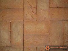 pavimento in tavella gialla 15x30x1