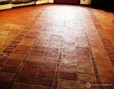 pavimento in tavelle vecchie 11