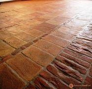 pavimento in tavelle vecchie 15