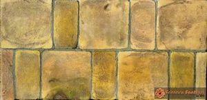 tavella quadra e rettangolare gialla