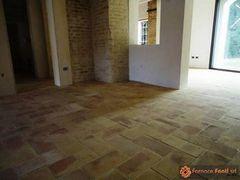 pavimento in tavella gialla levigata09