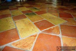pavimento in cotto rosso e giallo17