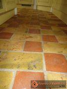 pavimento in cotto rosso e giallo18
