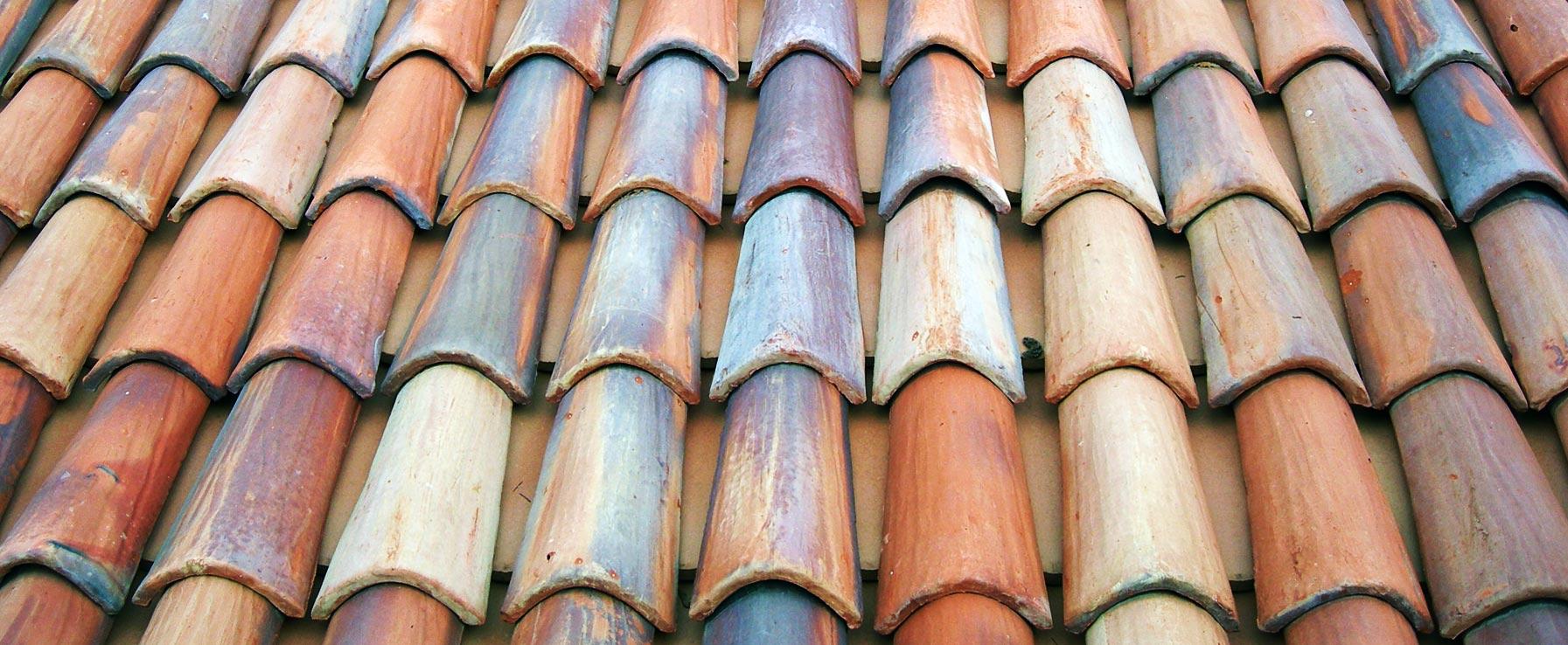 Coperture tetti con coppi e tegole in cotto realizzati a mano Fornace Fonti SRL